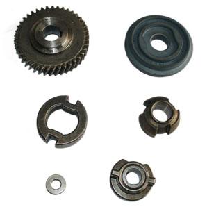 斜齿轮、冲击块和圆锥体等部件