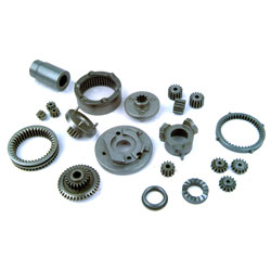 Parts for double speed & impacted gear box
